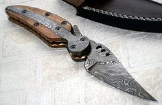 FN41 Custom Handmade Damascus Steel Folding Knife Stunning Piece of Art CaseColors May vary *** You can get more details by clicking on the image.Note:It is affiliate link to Amazon.
