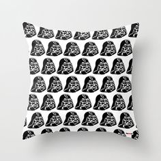 Star Wars pillow cover, Darth Vader pillow, Decorative throw pillow cover, Nursery Decor, Birthday gift, Gifts for boyfriends,