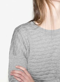 Uterqüe Germany Product Page - Ready to wear - Pullover und Cardigans -  Pullover mit Fantasiemuster b5790b168a