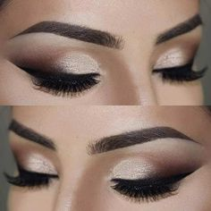 Smokey Glam Eye Makeup Look