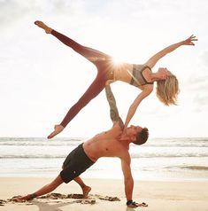 #yoga #yogainspiration(Fitness Inspiration Couples)