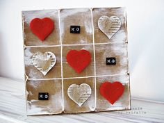 Odskocznia vairatki: Miłosne bingo Bingo, Quilling, Valentines Day, Coasters, Scrapbooking, Gift Wrapping, Cards, Gifts, Bedspreads