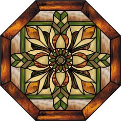 Image result for stained glass octegon pattern