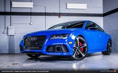 Audi Exclusive Nogaro Blue RS 7