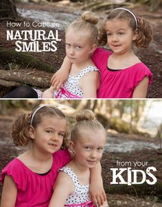 How to Capture Natural Smiles from YOUR Kids: 3 Simple Steps for Moms Behind the Camera #photography *simple tips. saving this for later.