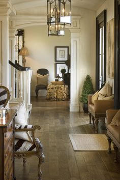 Hallway by Joy Tribout Interior Design