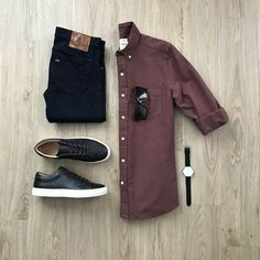 100 Best Smart Casual Outfit Ideas for Men This Year - The Hust Business Casual Men, Men Casual, Casual Shirt, Stylish Men, Best Smart Casual Outfits, Stylish Outfits, Look Man, Herren Outfit, Outfit Grid