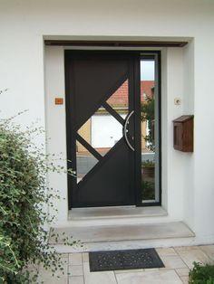 Portes d'entrée sur mesure : Alumnium, pvc, bois - Ad menuiserie