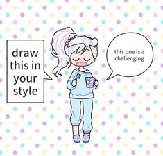 Art Style Challenge, Oc Challenge, Drawing Challenge, Art Drawings Sketches, Cute Drawings, Design Reference, Drawing Reference, What To Draw, Art Prompts