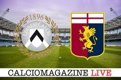 Udinese-Genoa LIVE domenica 9 aprile dalle ore 15