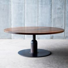 Heerenhuis Apollo XXL walnut Cafe Table MTM | heerenhuis_apollo_xxl_walnut_mtm | £4,400.00