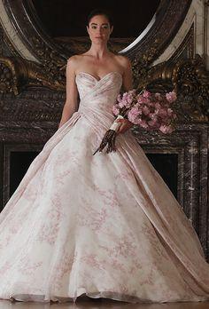 Brides: Romona Keveza Luxe Bridal Collection Wedding Dresses - Spring 2016 - Bridal Runway Shows - Brides.com