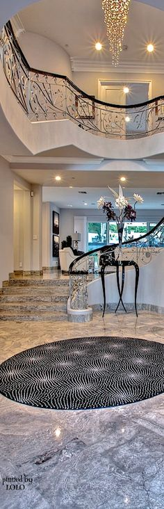luxury home FOYER  Mia for Bella Donna