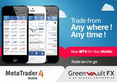 Stay updated and operate your #trading account while on the move. Access #financial markets, technical analysis and up-to-date news and events without being tied to your desk.  Download #MetaTrader 4 Mobile now and have the choice of where and when to #trade in your terms. Online Forex Trading, Brokerage Firm, Financial Markets, Technical Analysis, Investing, Platform, Desk, Events, Marketing