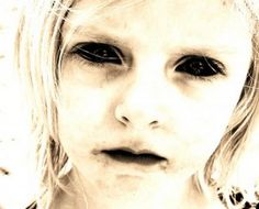 CHILLING sightings of a spectre known as The Black Eyed Child have returned to haunt a beauty spot after the ghostly child was last seen thirty years ago. Black Eyed Kids, Eye Facts, Mysterious Universe, Creepy Images, Remote Viewing, Cool Eyes, Paranormal, Mystery, Weird
