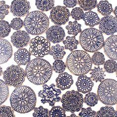 kafle koronki w dekornia na DaWanda.com