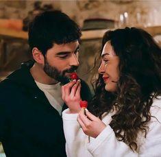 Bikini Tattoo, Turkish Actors, Movies Showing, Creative Photography, Couple Goals, Flower Art, Tv Shows, Couple Photos, Couples
