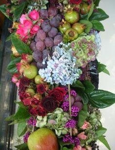 Gorgeous colours and textures. A Grandiflora arrangement.