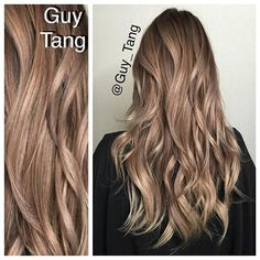 Hello HairBesties! Lifted using Guy Tang+@pravana #purelight Balayage lightener with HIGH activator for 45mins and tone with chromasilk express tones in Pearl+Violet with zero lift on level 9 lifted highlights on damp hair  and added clear to formula for ends, timed for 5mins processing time!  Would you like me show my balayage and tone method on #Periscope more often?? I just need to find a non camera shy client lol!