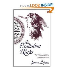 An Exaltation of Larks: The Ultimate Edition by James Lipton: @Ben Silbermann @Evan Sharp  The classic anthology of collective nouns, now expanded with witty engravings. Thanks to @Kathryn Perkey who introduced us to this book many years ago. $11.44 #James_Lipton #An_Exaltation_of_Larks