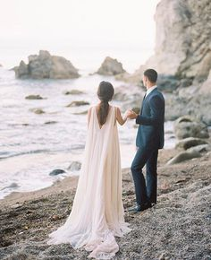Every bride needs a cape! Love this Gorgeous photo by @winsomeandwright of our Zion overlay, and McKenna #dress from our stockist @emmaandgracebridal
