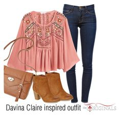 Davina Claire inspired outfit/TO Fall Outfits, Casual Outfits, Cute Outfits, Modest Outfits, Fashion Tv, Fashion Outfits, Womens Fashion, Davina Claire, Pretty Little Liars Fashion