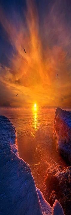 """Moments of Discovery"" Sunrise on the shore of Lake Michigan in Wisconsin. Wisconsin Horizons by Phil Koch. Lives in Milwaukee, Wisconsin, USA. phil-koch.artistw..."