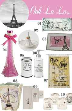 paris themed bathroom. 10 Paris Items for the Bathroom themed Small Fabric Storage Basket Eiffel Tower  France
