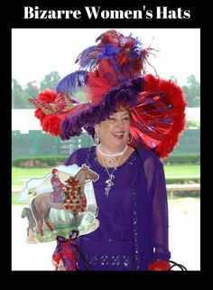 Everyone wants a cute hat to wear at the Kentucky Derby, but all at the same time you want the attention on you. Here are some of the hats that we've seen in the past along with some cute clothes to go with those hats. Ballet Leotards For Girls, Red Hat Society, Leotard Fashion, Hat Day, Crazy Hats, Kentucky Derby Hats, Love Hat, Cute Hats, Outfits With Hats