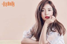 f(x)'s Luna perfectly portrayed modern chic makeup for 'The Celebrity'!For the beauty shoot, Luna tr… Mamamoo, Snsd, Fx Luna, Celebrity Magazines, Dark Red Hair, Female Character Inspiration, Sulli, Beauty Shoot, Hair 2018