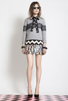 The Clothes Horse-- MSGM Pre-Fall 2012