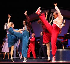 """Art at IU: Indiana Festival Theatre's new summer musical production """"Swing!"""" brings together a variety of IU dancers on stage. Full story at http://go.iu.edu/7FJ"""