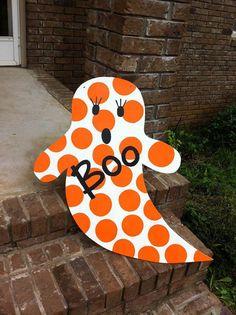 Ghost Door Hanger. $30.00, via Etsy.