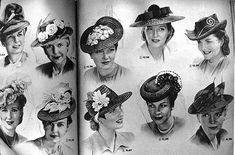 Hats from the 50's