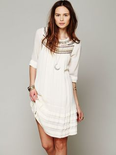 Free People Ribbons And Rows Dress
