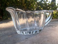 Vintage Heisey Glass Creamer by TheHoneysuckleTree on Etsy