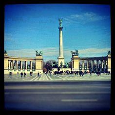 "@kelex_2x's photo: ""Budapest, Hősök tere ~ #Budapest #budapest #Hungary #hungary #square #city #instagram"""