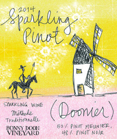 "2014 Sparkling ""Pinot Doonier"" 
