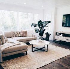 #DiyCraftsForRoomDecor Modern Minimalist Living Room, Living Room Modern, Home Living Room, Apartment Living, Interior Design Living Room, Cozy Living, Minimal Apartment Decor, Minimalist Home Decor, Living Room Set Ups