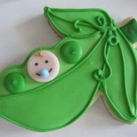 Baby Pea In A Pod Cookies