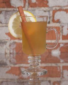 Hot Toddy: 1 tbsp honey, 1/4 juice of lemon, 1 oz whiskey, 8 oz hot water or tea, 1 cinnamon stick