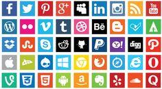 social media icons vector - Google Search