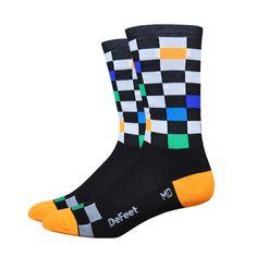 DeFeet Fast Times Socks   Cycling Socks