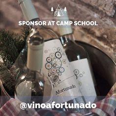 @vinoafortunado sponsor en #campschoolLosjarales www.bodasdecuento.com