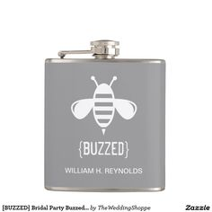 {BUZZED} Bridal Party Buzzed Bee Gift (platinum)