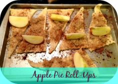 Easy Apple Pie Roll-Ups RecipeLife is Poppin' I made these this morning.. I tweaked this a little just dicing the apples and tossing them in butter and cinnamon brown sugar. Buttered the dough and then rolled up into crescent brushed with butter and a little brown sugar .. Big from a picky eater.. Enjoy!! Thanks to original recipe and Pinner!!