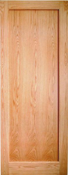 Rushmore Oak Single Panel Internal Door