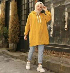 New fashion hijab outfits casual muslim – Hijab Fashion 2020 Modern Hijab Fashion, Street Hijab Fashion, Hijab Fashion Inspiration, Muslim Fashion, Mode Inspiration, Fashion Ideas, Oufits Casual, Casual Hijab Outfit, Hijab Chic