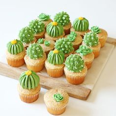 Desert-Inspired Desserts | Cactus Cupcakes | Colourful Dessert Table | Mexican Fiesta Party Ideas | Kids Party Inspiration | HOORAY! Mag