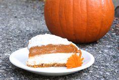 Decadent No Bake Pumpkin Cheesecake
